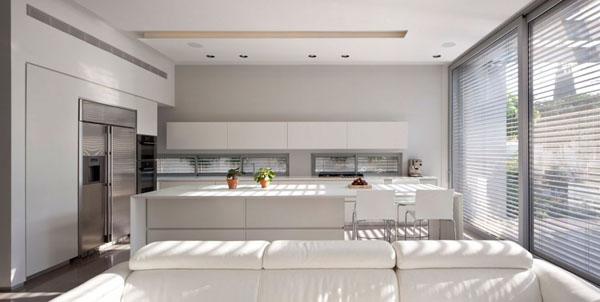 beyaz konforlu mutfak