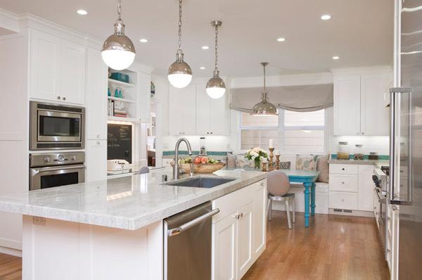 çağdaş beyaz ve modern mutfak