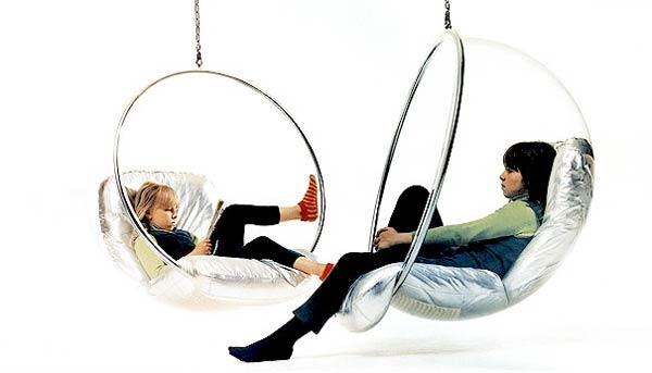 modern asılı sandalye