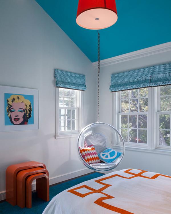 çocuk odası asma sandalye