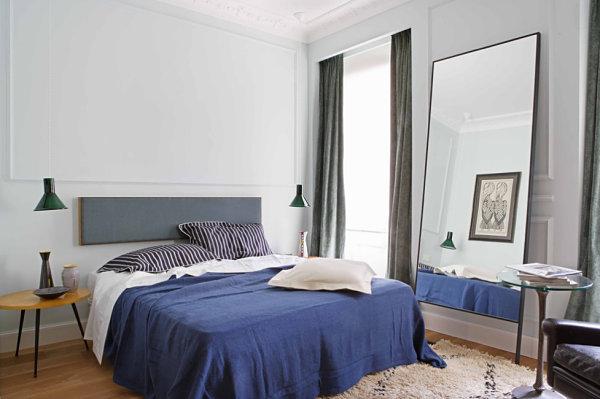 aynalı yatak odası