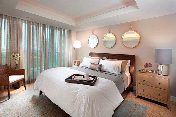 3'lü aynalı yatak odası