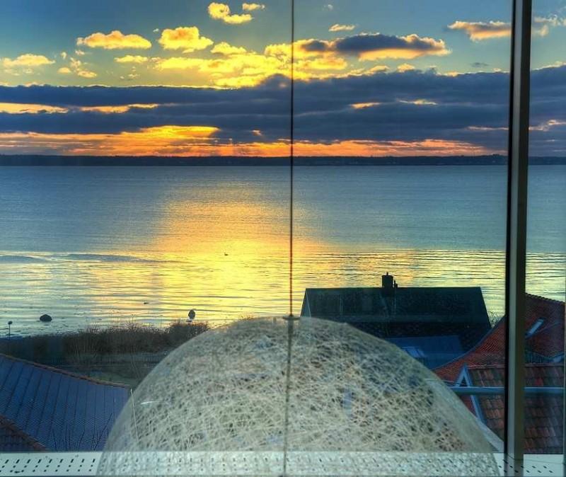 isveç muhteşem ev - gün batımı