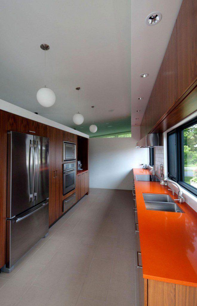 kanada turuncu mutfak takımı - 2