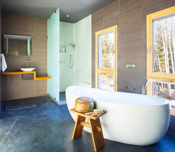 modern duş ve küvet örnekleri