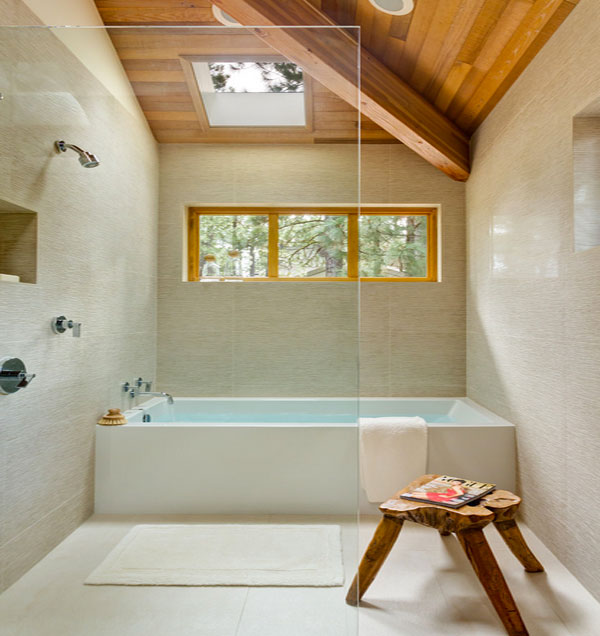 çatı katı banyosu