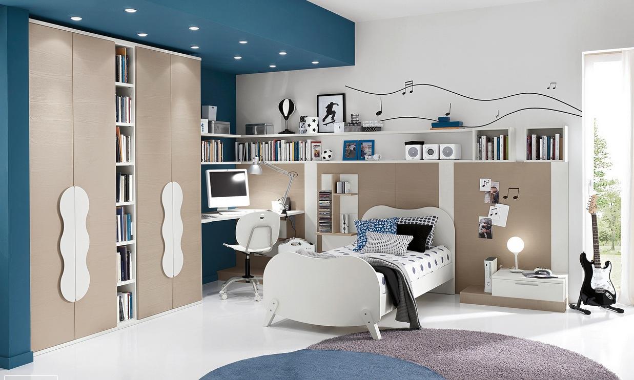 genç delikanlı odası