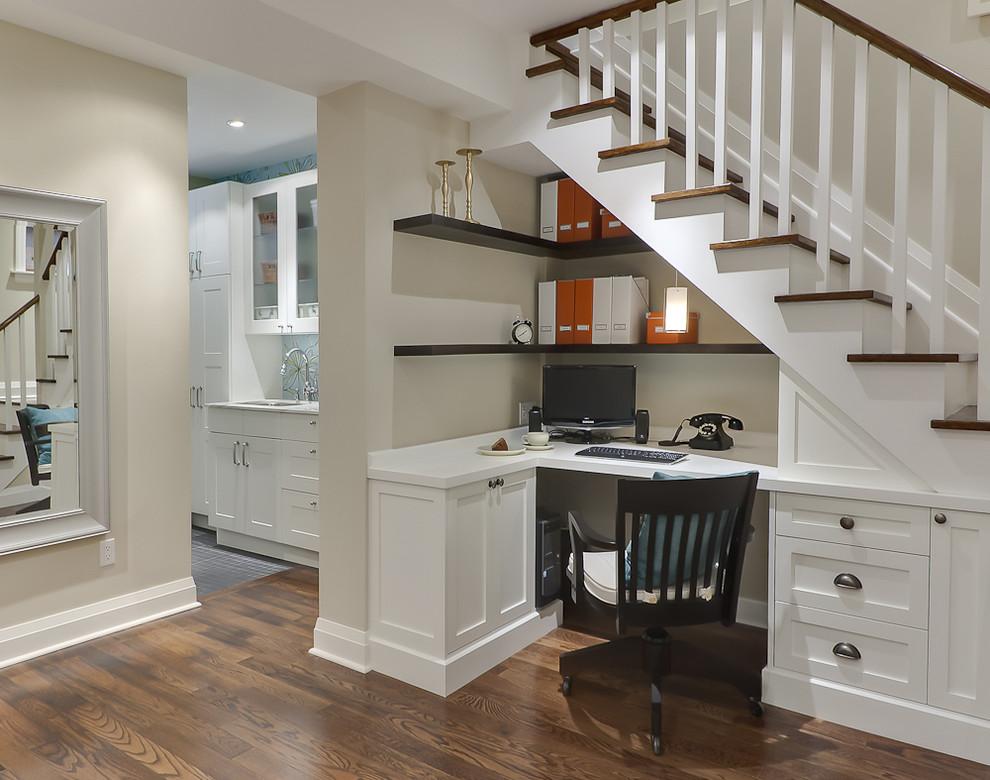 merdiven altı home office