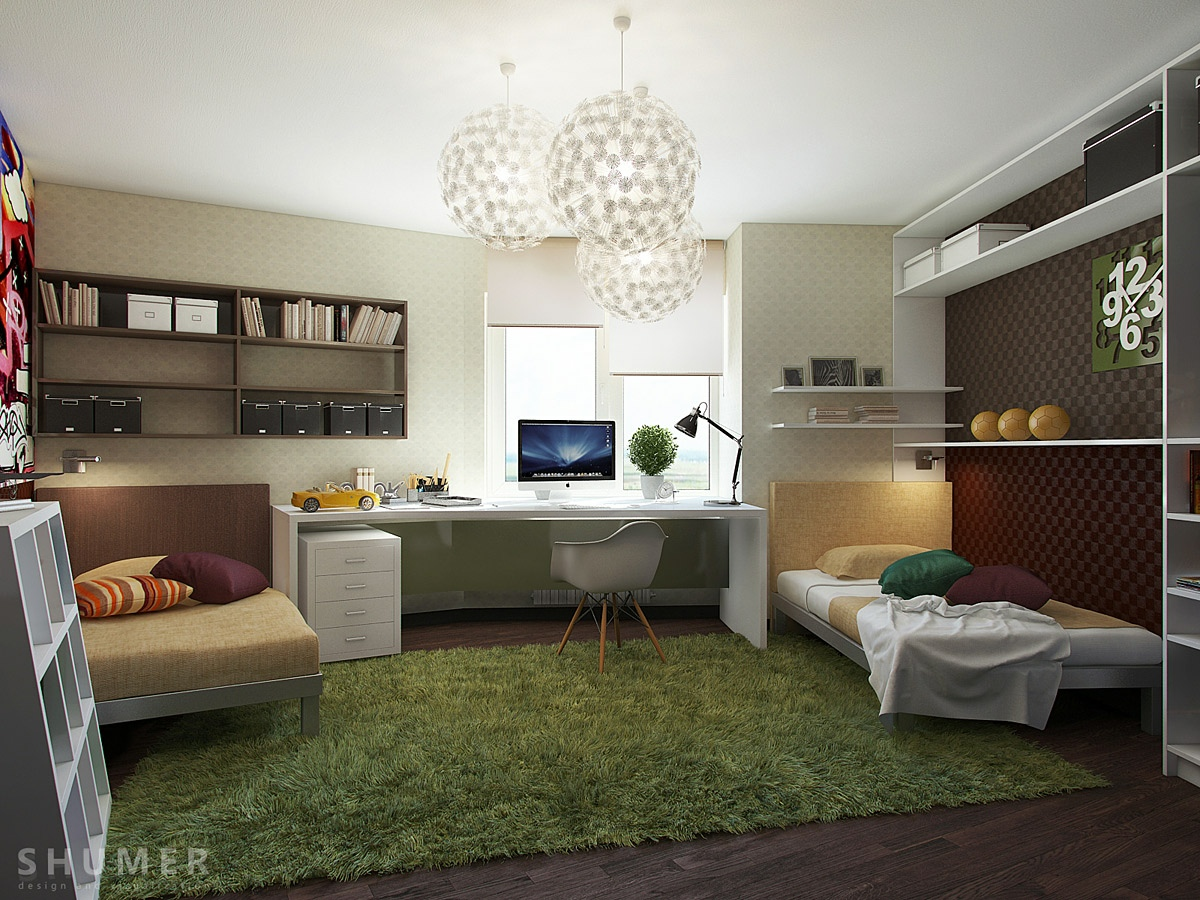 süper genç odaları