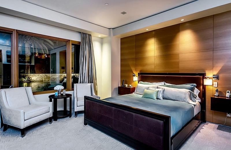 çağdaş yatak odası