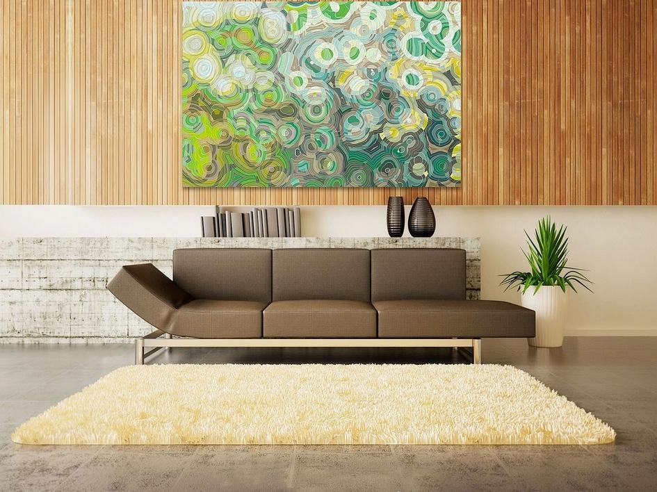 doğal renkli oda tasarımı