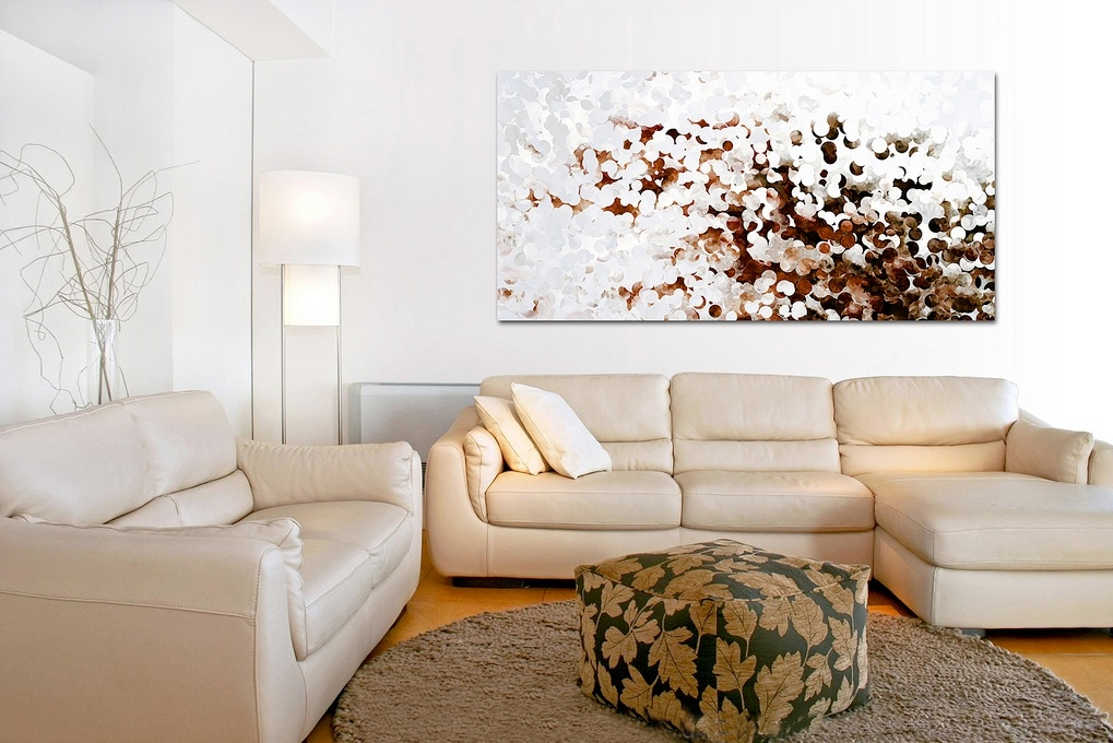 krem rengi sanatsal oda