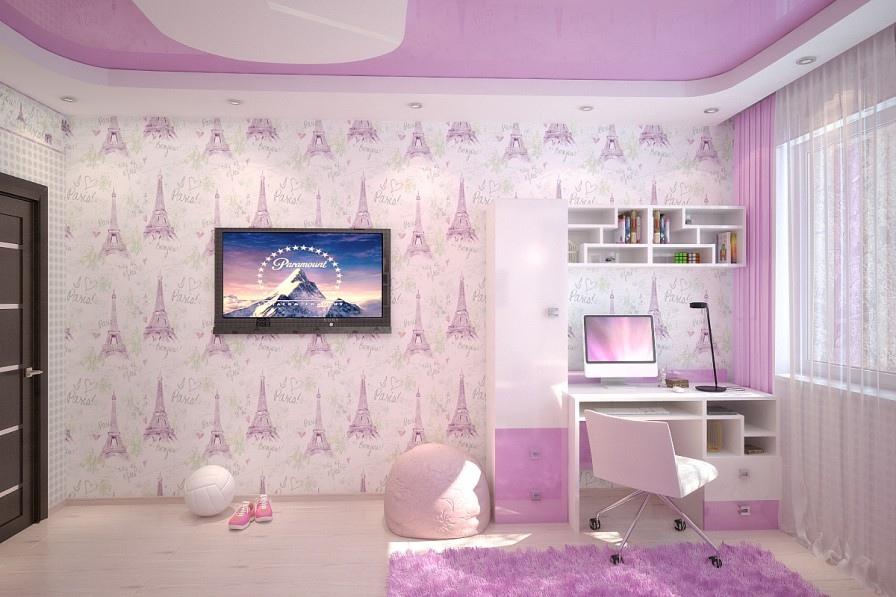 pempe kız çocuğu odası