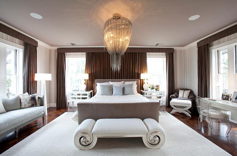 süper aydınlatmalı yatak odası