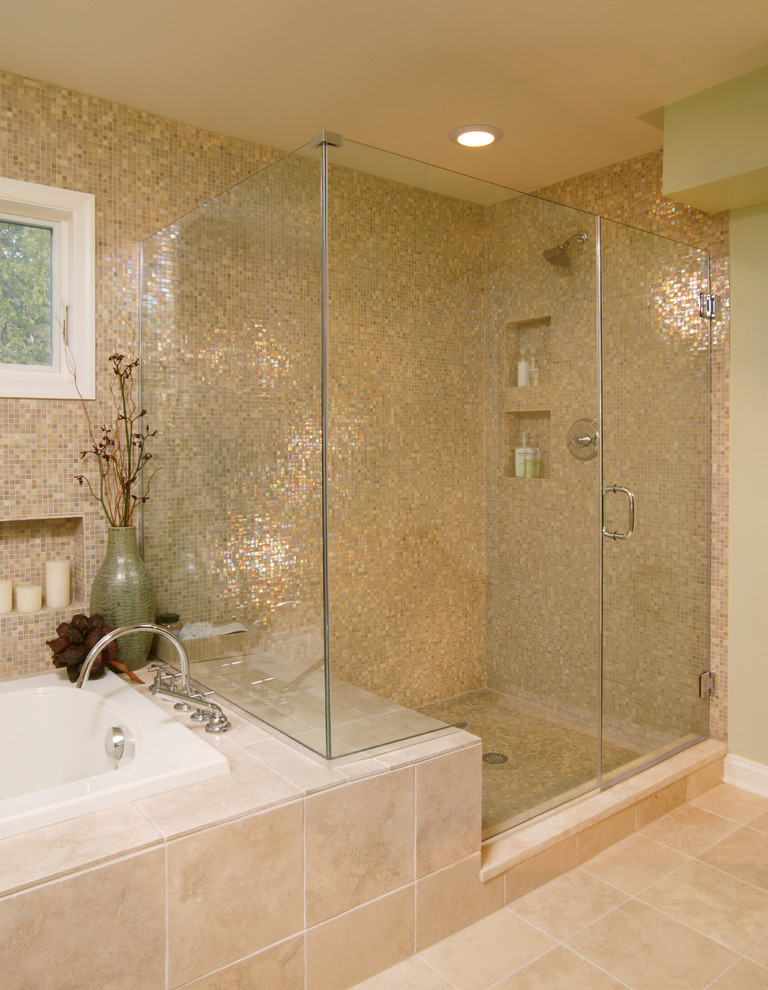sarı modern banyo