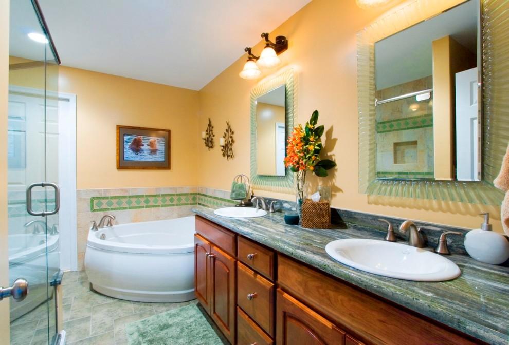 çift lavabolu banyo
