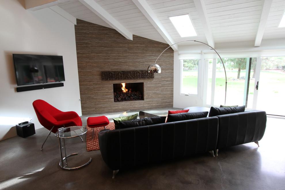 modern oturma odaları ve resimleri