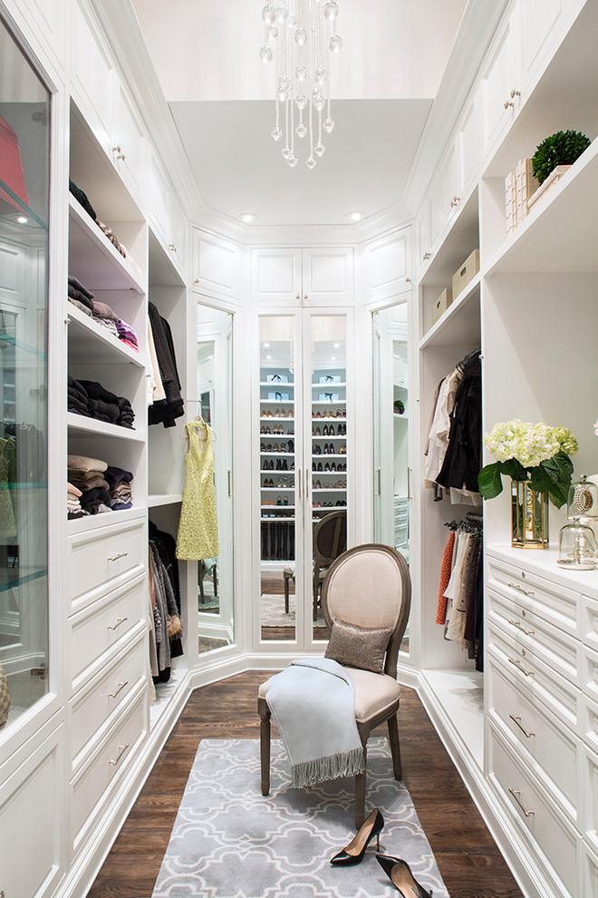 londra stili giyinme odası