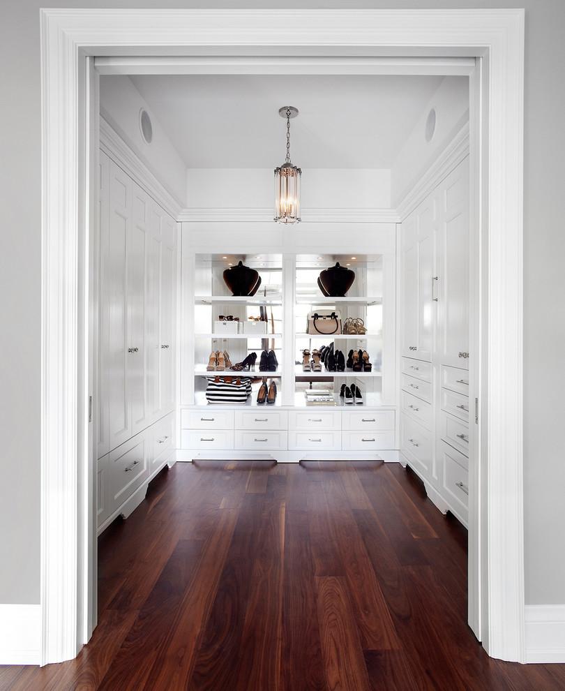 süper beyaz giyinme odası