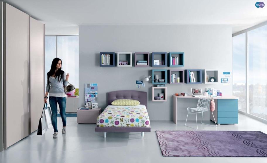 minimalist genç odası