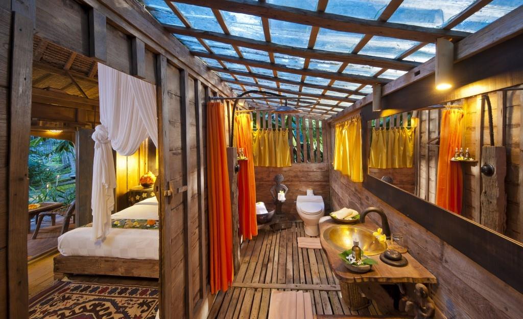 bambu duşluk