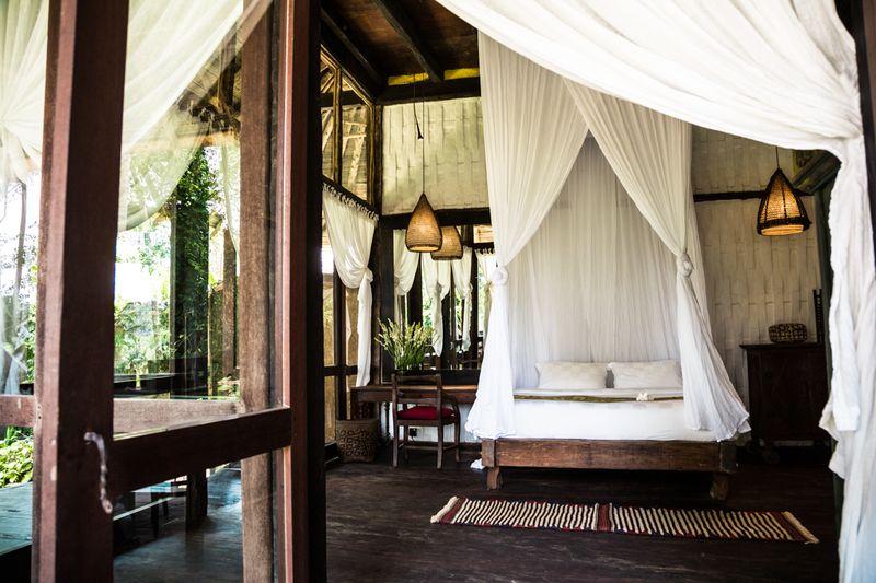 süper bambu evleri