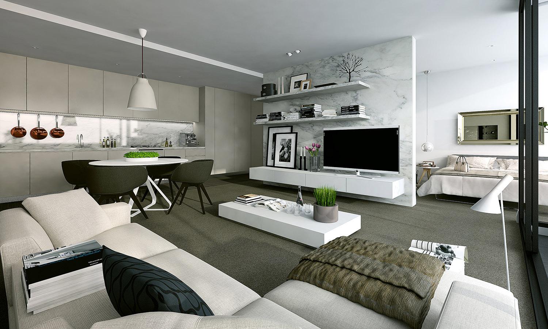 modern stüdyo daire