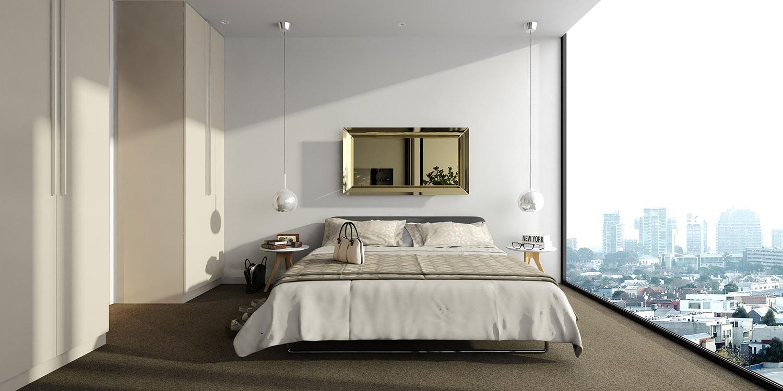 stüdyo süper yatak odası
