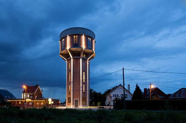 ilginç kule bina manzarası