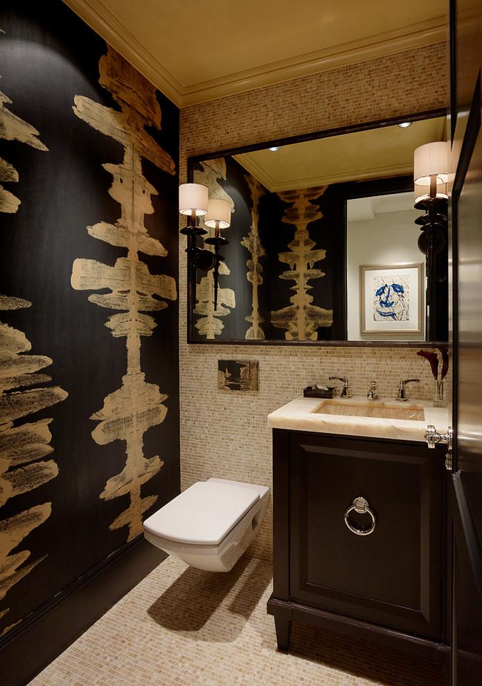 eklektik banyo resmi