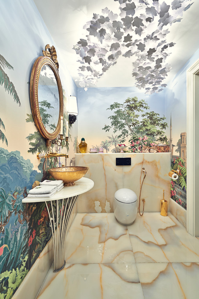 ilginç banyo resmi