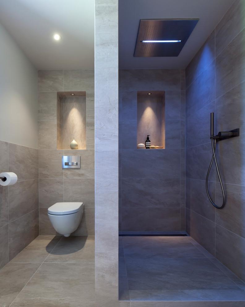 modern duşluk ve banyo