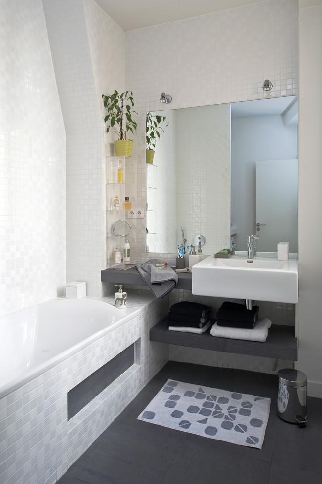 şık banyo resmi