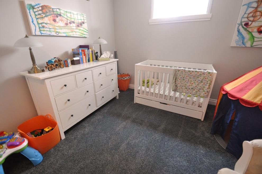 beyaz bebek odası resmi