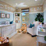 eğlenceli bebek odası