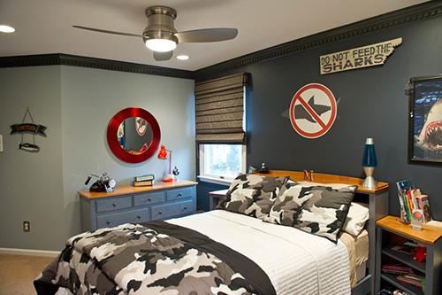 genç erkek odası resmi