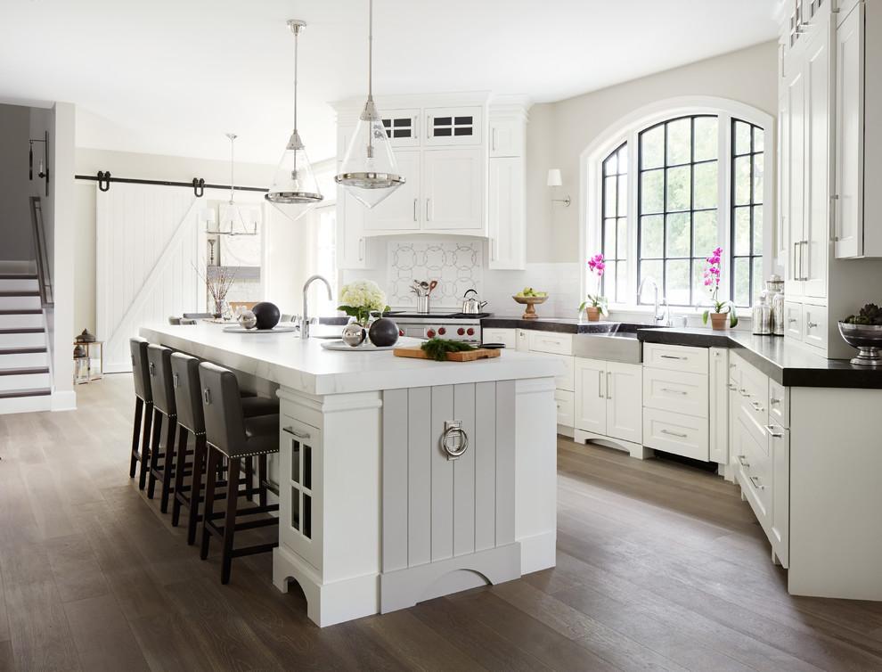 harika beyaz mutfak