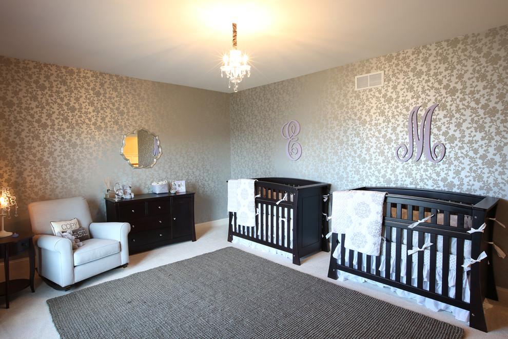 ikiz bebek odası takımı