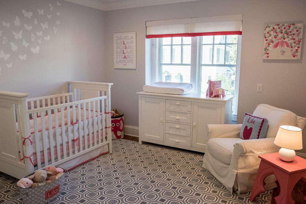kırmızı beyaz bebek odası