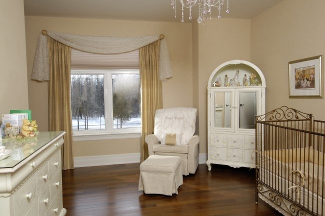 klasik bebek odası
