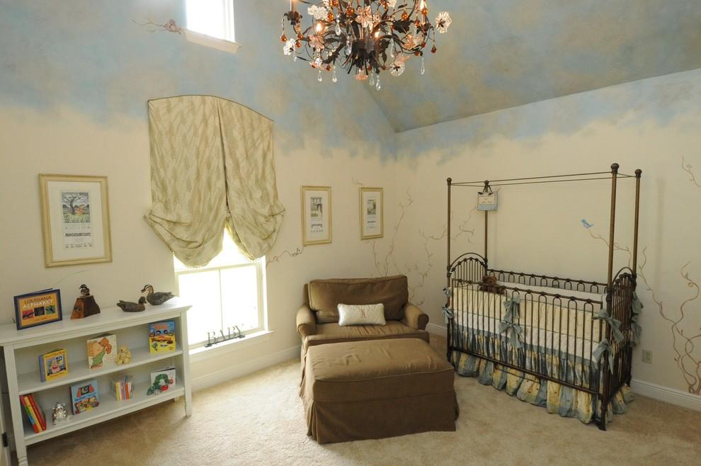 oryantal bebek odası resmi