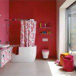 pembe banyo tasarımı