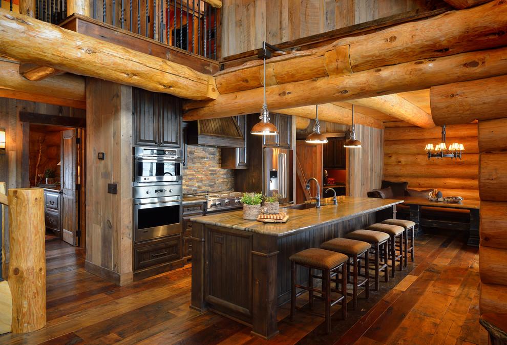rustik mutfak resmi