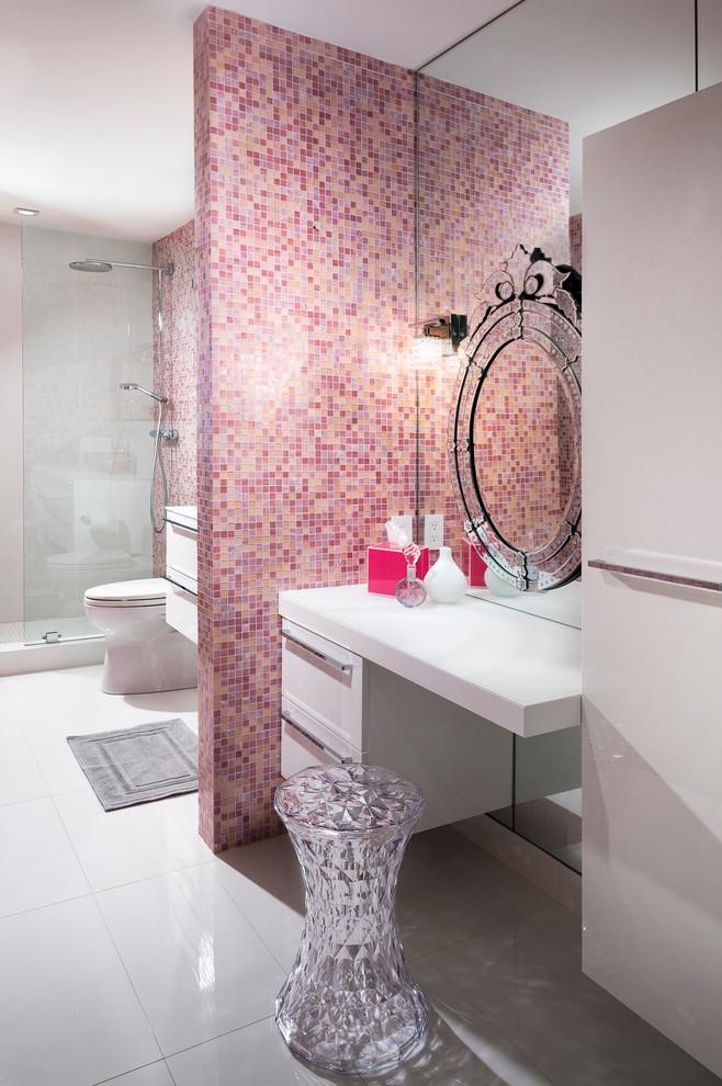 süper modern banyo