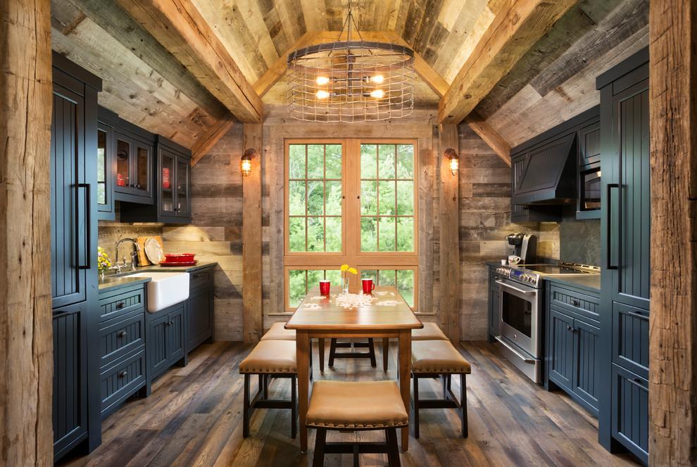 süper rustik mutfak