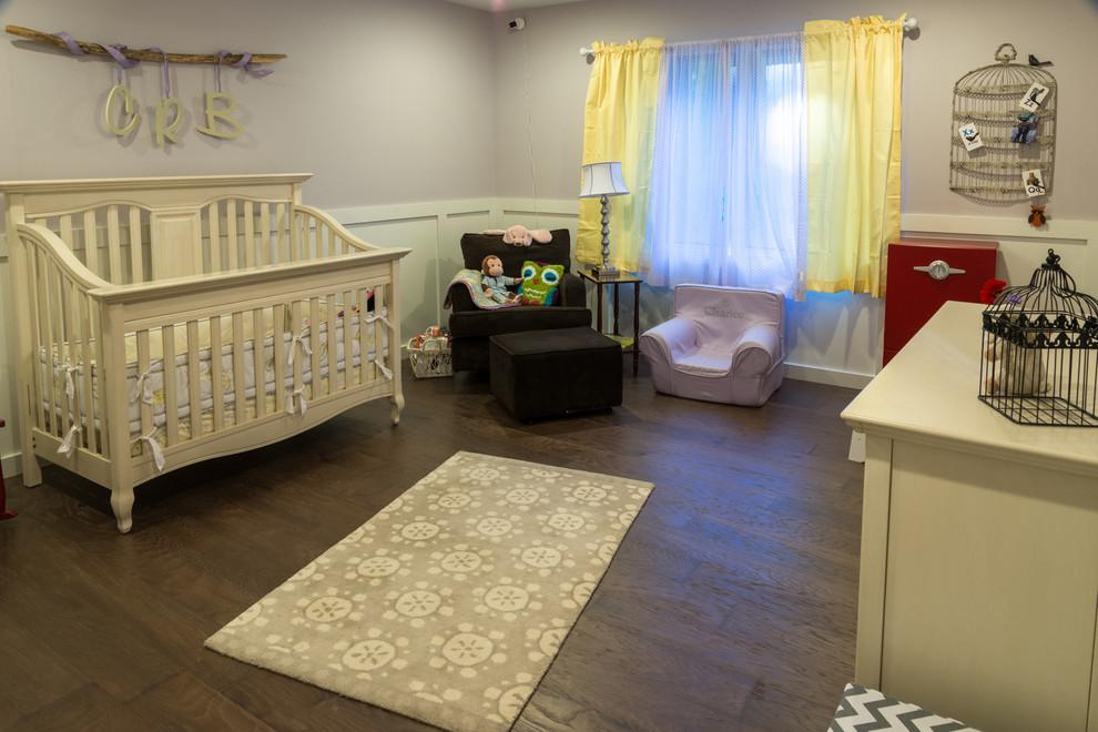 sarı bebek odası resmi
