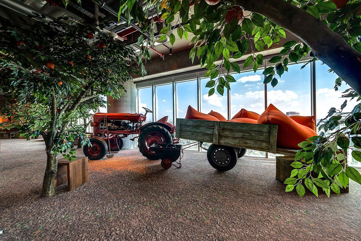 google tel aviv bina bahçe