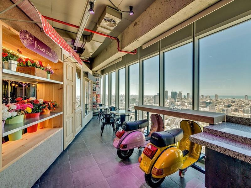 google tel aviv farklı cafe