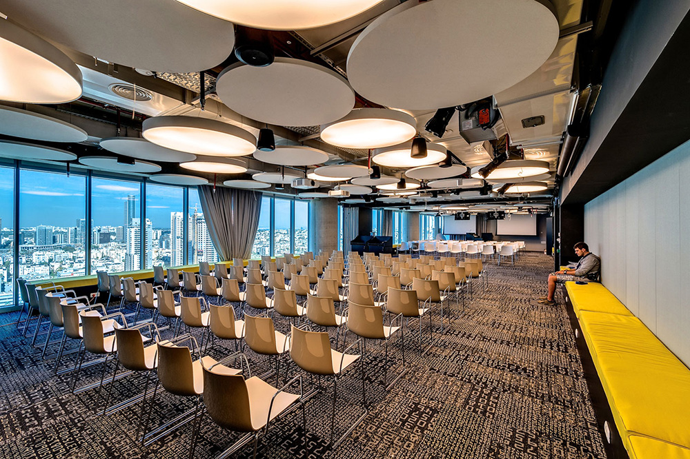 google tel aviv konferans salonu