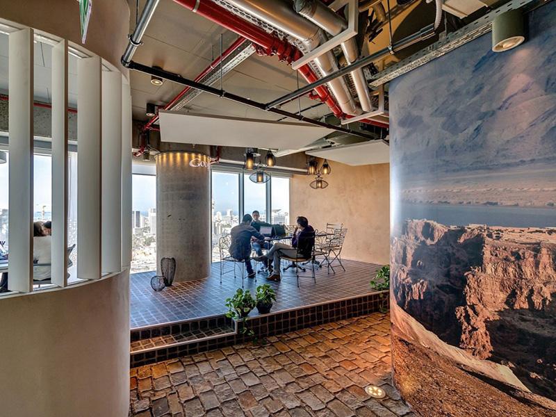 google tel aviv ofis dinlenme